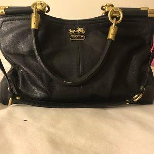 One of kind original leather coach purse